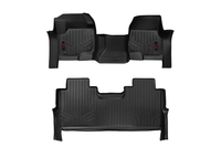 Image Heavy Duty Floor Mats [Front/Rear] - (17-18 Ford Super Duty Crew Cab)