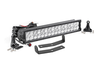Image 20-inch X5 Series Dual Row CREE LED Light Bar & Hidden Bumper Mounts Kit