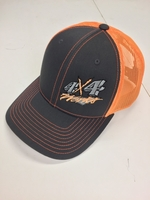 Image 4x4Works Florescent Orange Trucker Hat