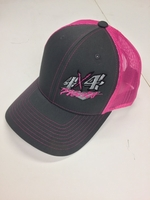 Image 4x4Works Florescent Pink Trucker Hat
