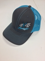 Image 4x4Works Florescent Blue Trucker Hat