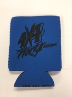 Image 4x4works Blue Magnetic Koozie