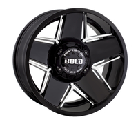 Image BD004 GLOSS BLACK w/ MILLED WINDOWS 20x10