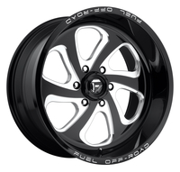 Image Flow D587 - Gloss Black & Milled 17x9
