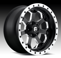 Image Savage D565 - Black & Milled 18x9