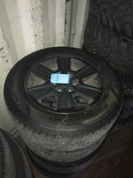 "Image 18"" Aluminum Alloy / painted black Ford F150 wheels for sale."
