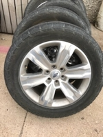 """Image 20"""" Polished Aluminum Alloy Ford F150 wheels for sale."""