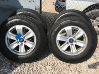 "Image 17"" Polished Aluminum Alloy Ford F150 wheels for sale."