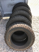 Image (FIVE) USED 255/75R17 TIRES FOR SALE