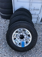 Image Set of NISSAN NV3500 WHEELS AND TIRES