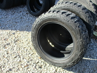 Image (FOUR) GENTLY USED LT295/55R20 PROCOMP XTREME M/T2 TIRES FOR SELL