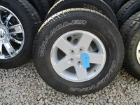 Image A Set of five Jeep JK Sport used wheels and tires
