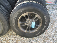 """Image Five Jeep JKU 1941 STYLE 17"""" Bronze wheels with tires"""