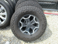 Image 2020 JEEP GLADIATOR RUBICON FACTORY WHEELS AND TIRES