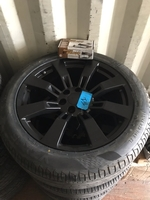 "Image Aftermarket 22"" GM Aluminum wheels with tires"