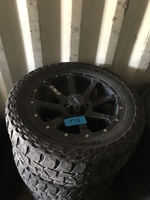 "Image Roush / Ford F150 20"" Black Mickey Thompson wheels"