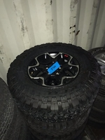 Image 2020 JEEP JLU RUBICON FACTORY WHEELS AND TIRES