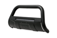 Image Toyota Bull Bar w/LED Light Bar | Black (16-18 Tacoma)