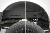 Image Nissan Frontier Steel Rear Wheel Well Liners (05-18 | Crew Cab)