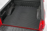 Image Truck Bed Mat with RC Logo 07-18 GM Silverado/Sierra