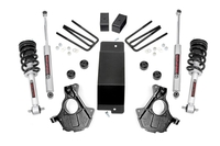 Image 3.5in GM Suspension Lift   Knuckle Kit w/ Struts (14-18 1500 PU 4wd   Aluminum a